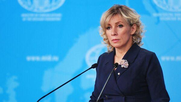 Официальный представитель МИД России Мария Захарова - Sputnik Грузия