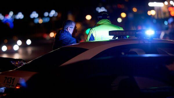 Патрульная полиция. Полицейский за работой - Sputnik Грузия