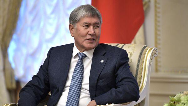 Алмазбек Атамбаев  - Sputnik Грузия