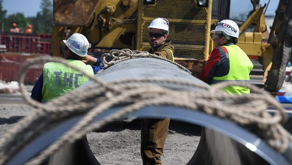 Строительство газопровода Северный поток-2 - Sputnik Грузия