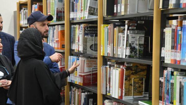 Грузинская библиотека в Дохе - Sputnik Грузия