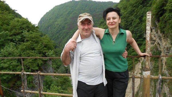 რუსუდან  ჩარკვიანი და მისი მეუღლე მამუკა ჩაჩხიანი - Sputnik საქართველო