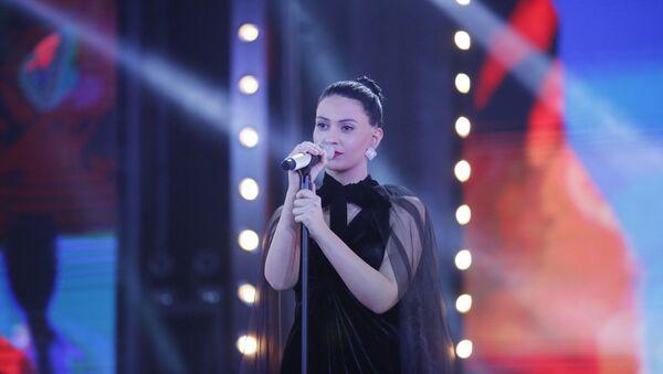 Участница шоу Мхолод картули Тамта Хухунаишвили - Sputnik Грузия