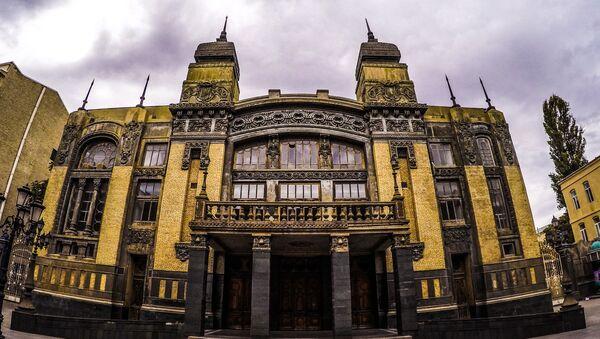 Akademik Milli Opera və Balet Teatrı, arxiv şəkli - Sputnik Грузия