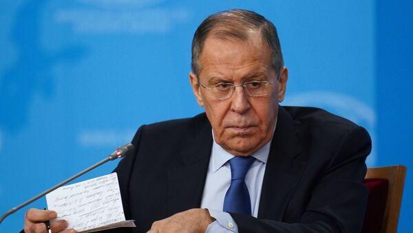 П/к и. о. министра иностранных дел РФ С. Лаврова - Sputnik Грузия