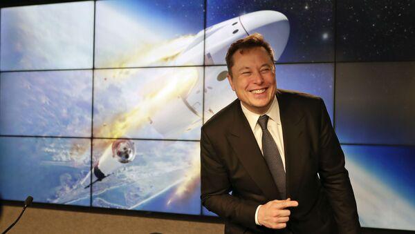 Американский предприниматель, изобретатель И́лон Маск   - Sputnik Грузия