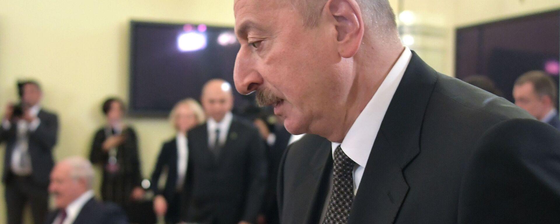 Президент Азербайджана Ильхам Алиев - Sputnik Грузия, 1920, 21.01.2020