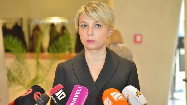 Народный защитник Грузии Нино Ломджария - Sputnik Грузия