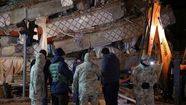 Последствия землетрясения в Турции - Sputnik Грузия