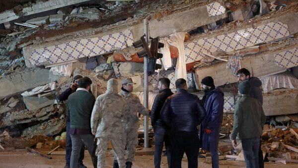 Последствия землетрясения в Элязыге - Sputnik Грузия