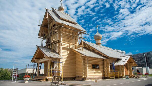 Московский Храм святой Равноапостольной Нино - Sputnik Грузия