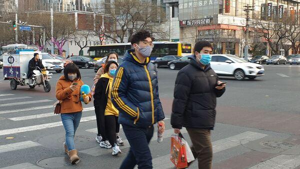 Распространение коронавируса нового типа в Китае - Sputnik Грузия