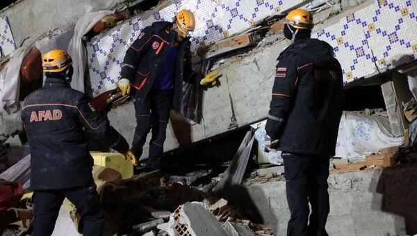 Последствия землетрясения на востоке Турции - Sputnik Грузия