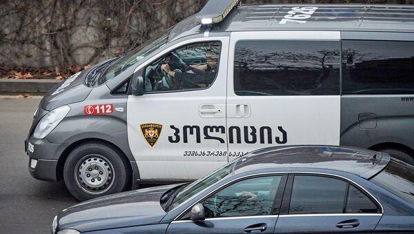 პოლიცია - Sputnik საქართველო