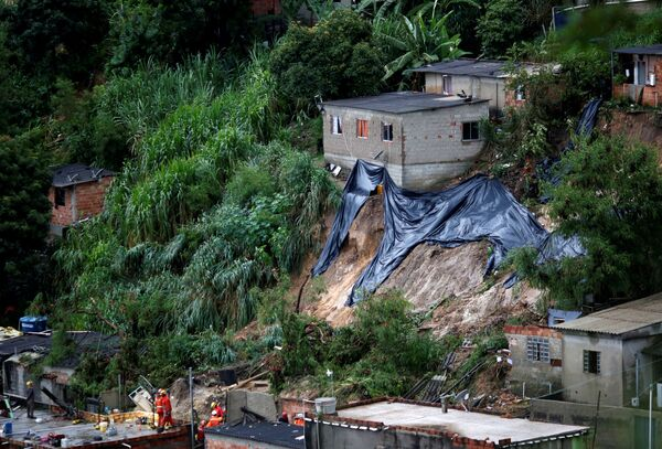 В Бразилии был объявлен трехдневный траур по жертвам стихии - Sputnik Грузия