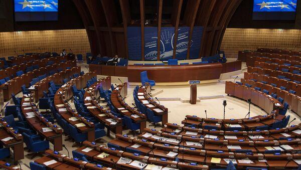 Зал заседания Парламентской ассамблеи Совета Европы  - Sputnik Грузия