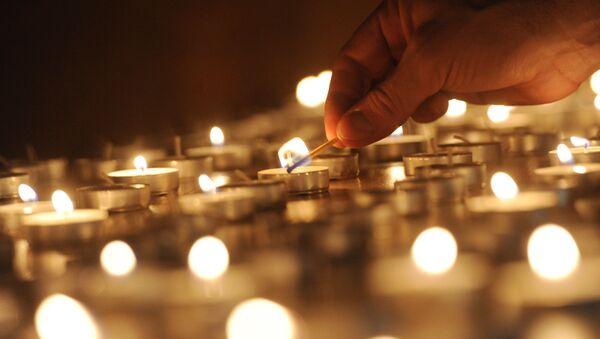 Церемония зажжения свечей в память жертв Холокоста - Sputnik Грузия