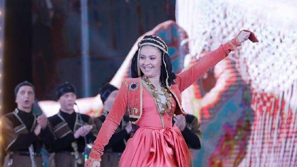 Победительница III сезона шоу Только грузинское (Мхолод картули) Тамта Хухунаишвили - Sputnik Грузия