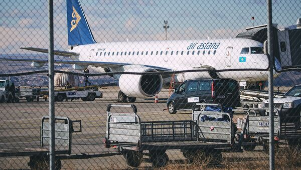 ყაზახეთის ავიაკომპანია Air Astana-ს თვითმფრინავი - Sputnik საქართველო