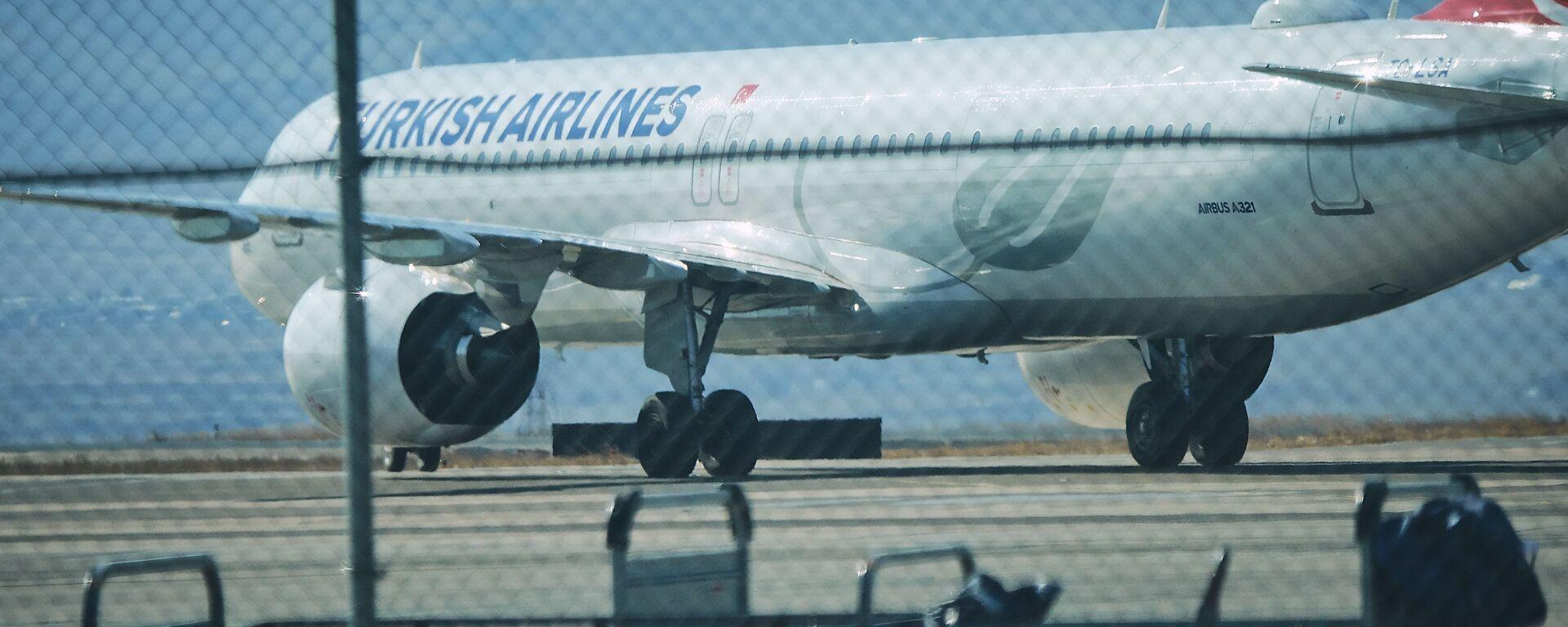 ავიაკომპანია Turkish Airlines-ის თვითმფრინავი - Sputnik საქართველო, 1920, 30.03.2021