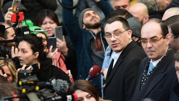 Гига Бокерия. Новая акция протеста оппозиции в грузинской столице 5 февраля - Sputnik Грузия