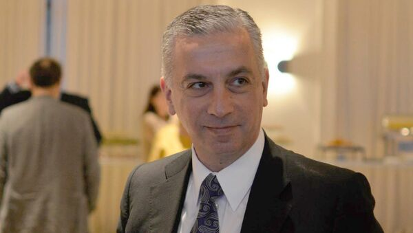 Глава Национальной комиссии по коммуникациям Грузии Кахи Бекаури - Sputnik Грузия