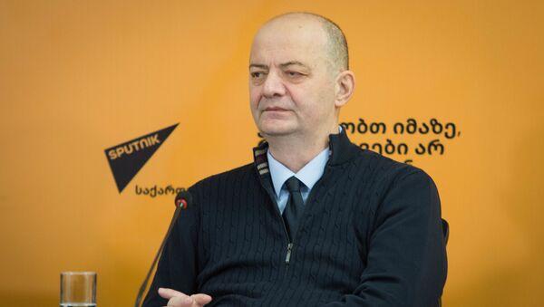 Гия Мепаришвили бывший генеральный прокурор Грузии, доктор права  - Sputnik Грузия