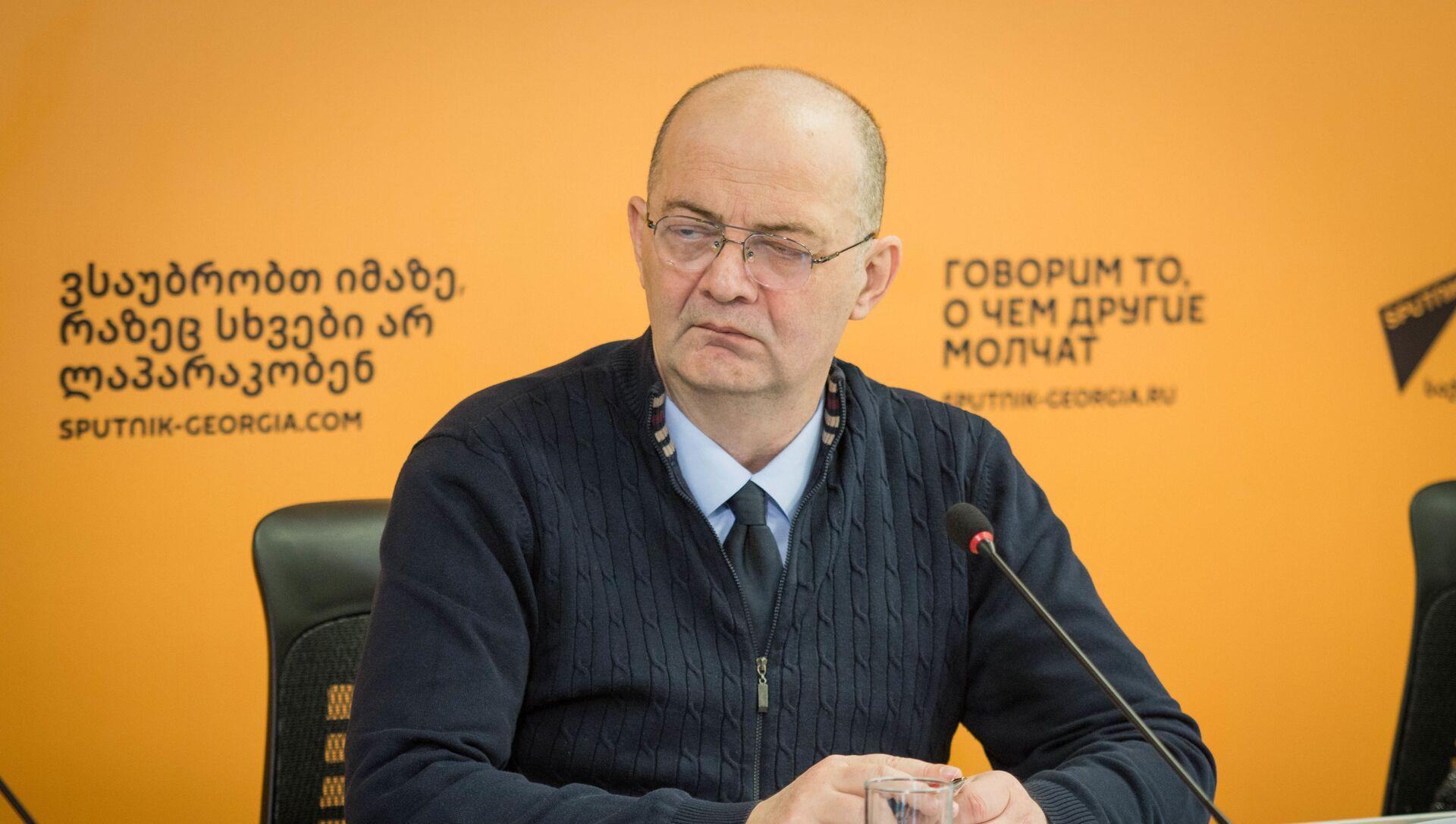 Гия Мепаришвили бывший генеральный прокурор Грузии, доктор права  - Sputnik Грузия, 1920, 07.06.2021