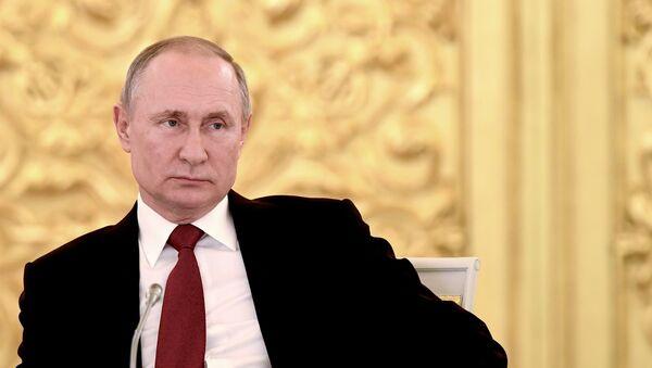 Президент РФ В. Путин - Sputnik Грузия