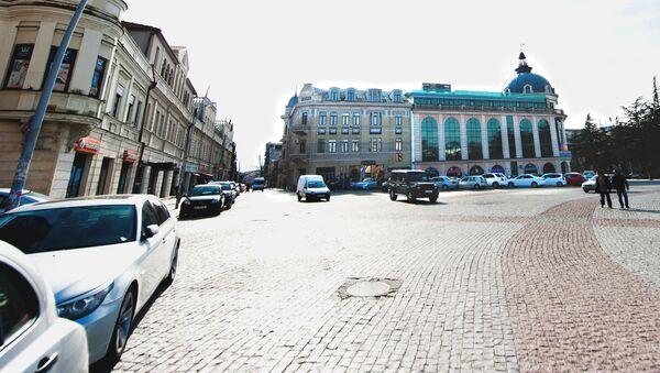 Центральная улица Кутаиси - Sputnik Грузия