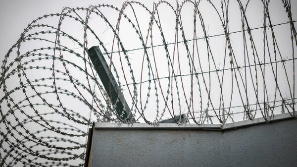 Охранный периметр тюрьмы - Sputnik Грузия