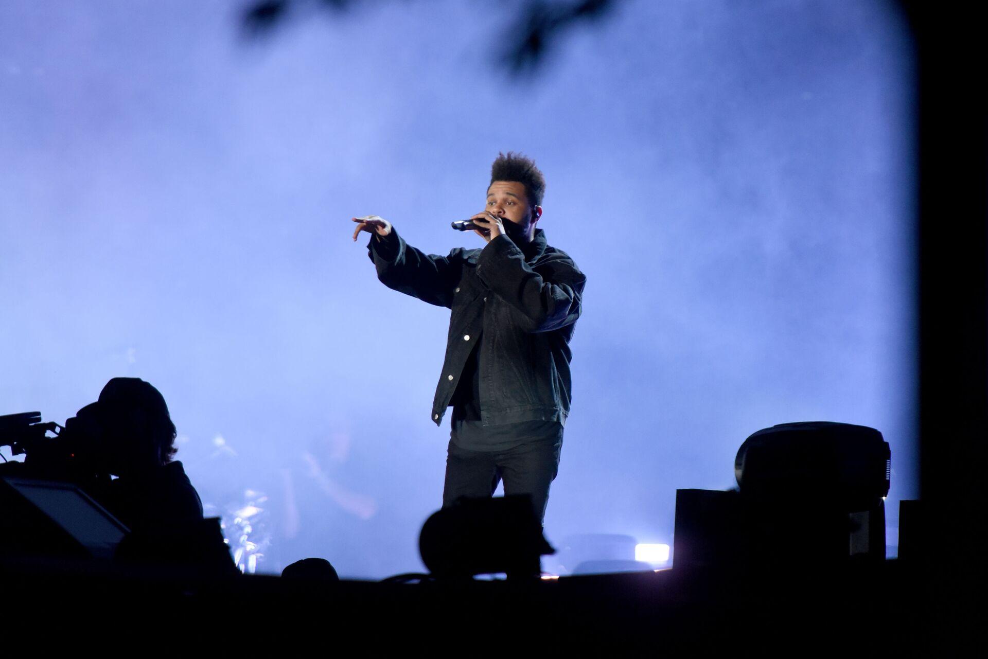 певец The Weeknd - Sputnik Грузия, 1920, 28.09.2021