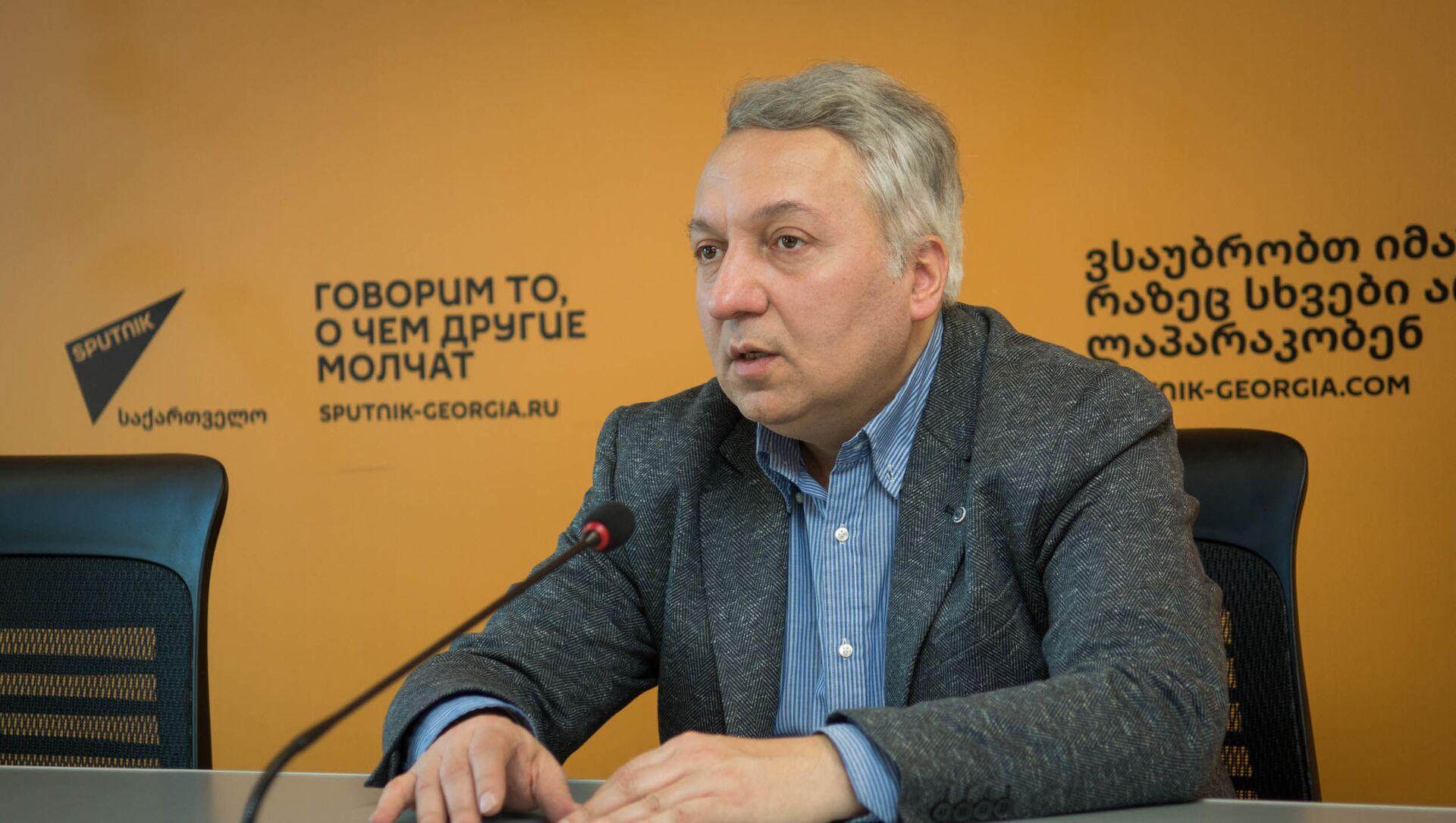 Васо Капанадзе - эксперт по международным вопросам - Sputnik Грузия, 1920, 23.02.2021