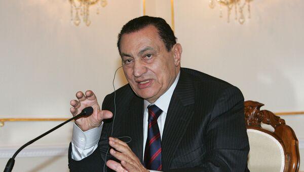 Президент Египта Хосни Мубарак - Sputnik Грузия