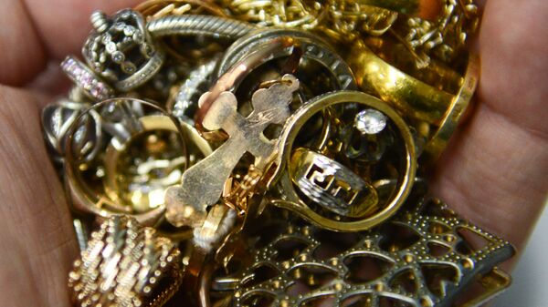 Драгоценности золото серебро - Sputnik Грузия