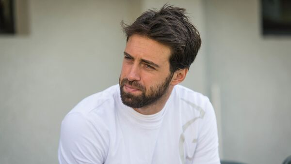 Лидер мужской сборной Грузии по теннису - Николоз Басилашвили - Sputnik Грузия