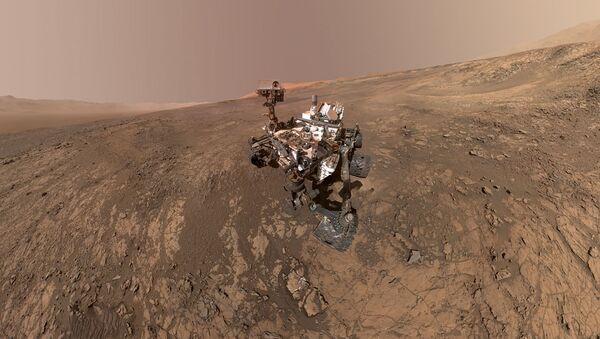 Марсоход Curiosity  - Sputnik Грузия