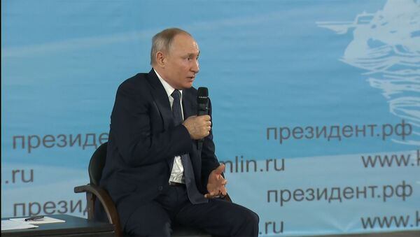 Путин: не ставьте президента Беларуси в неудобное положение - Sputnik Грузия