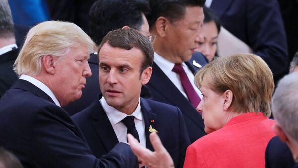 Саммит G20 в Гамбурге - Sputnik Грузия