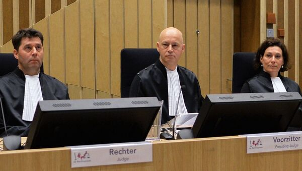 Заседание суда по делу о крушении Boeing MH17 - Sputnik Грузия