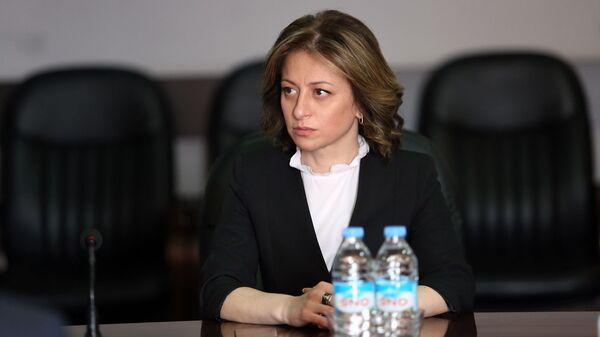 Глава Минздрава Грузии Екатерина Тикарадзе - Sputnik Грузия