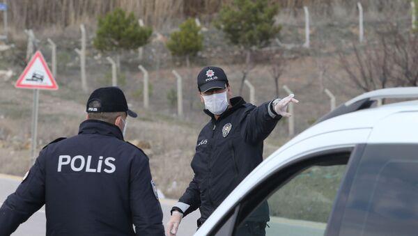 Сотрудники турецкой полиции - Sputnik Грузия