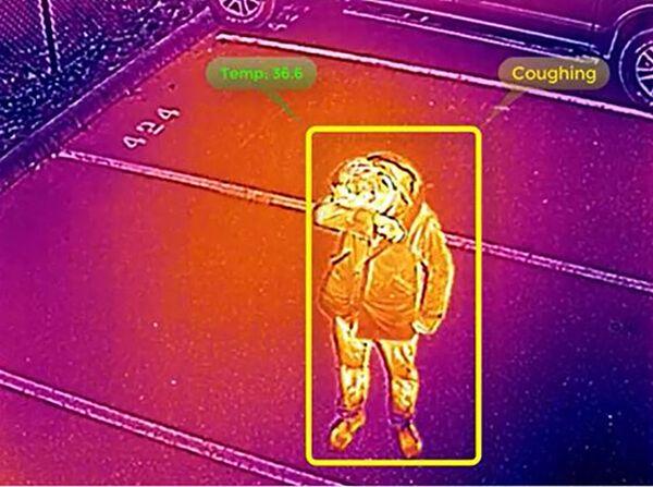С помощью беспилотника, можно определить температуру у людей - Sputnik Грузия