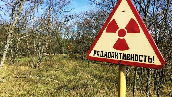 Радиоактивная зона - предупреждающий знак - Sputnik Грузия