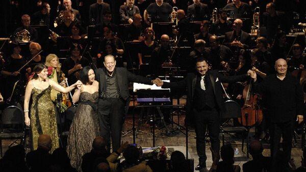 Концерт Симфонии №9 Бетховена на сцене Тбилисского театра оперы и балета - Sputnik Грузия