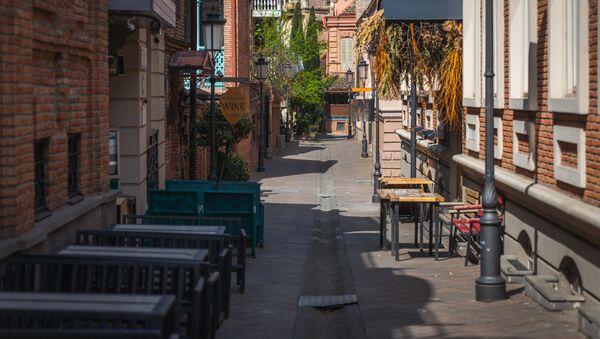 დაკეტილი კაფეები და რესტორნები - Sputnik საქართველო