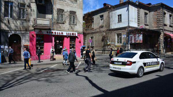 პოლიცია თბილისის ქუჩებში - Sputnik საქართველო