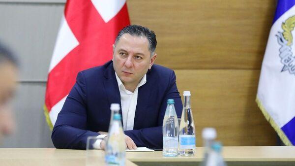 საქართველოს შინაგან საქმეთა მინისტრი ვახტანგ გომელაური - Sputnik Грузия
