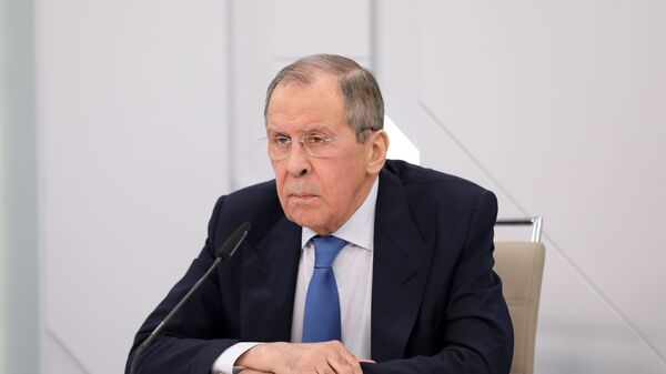 Министр иностранных дел РФ Сергей Лавров - Sputnik Грузия