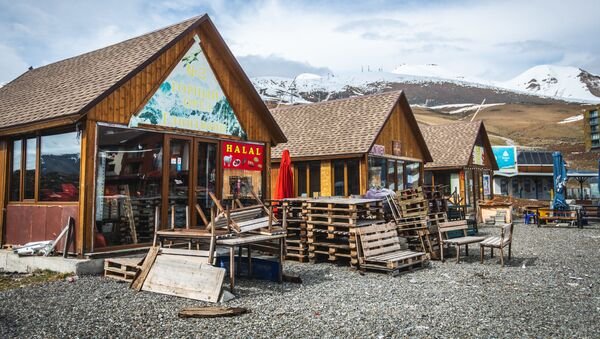 Горнолыжный курорт Гудаури - Sputnik Грузия